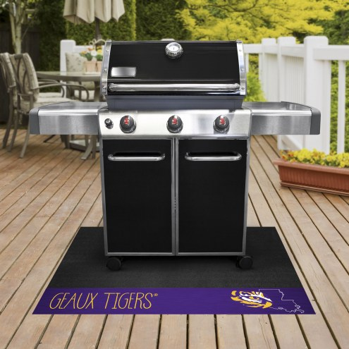 LSU Tigers Southern Style Grill Mat