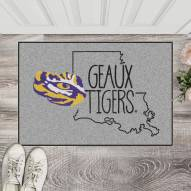 LSU Tigers Southern Style Starter Rug