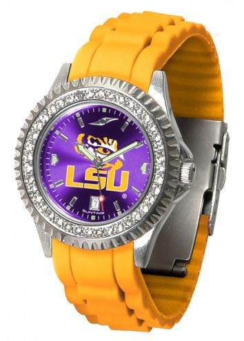LSU Tigers Sparkle Women's Watch