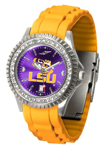 LSU Tigers Sparkle Women's Watch