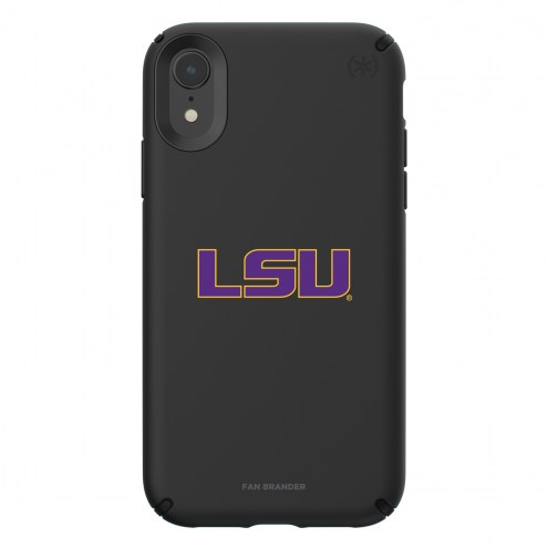 LSU Tigers Speck iPhone XR Presidio Pro Black Case