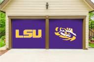 LSU Tigers Split Garage Door Banner
