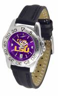 LSU Tigers Sport AnoChrome Women's Watch