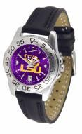 LSU Tigers Sport AnoChrome Women's Watch