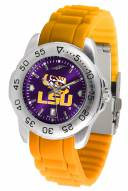 LSU Tigers Sport Silicone Men's Watch