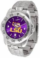 LSU Tigers Sport Steel AnoChrome Men's Watch