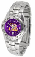 LSU Tigers Sport Steel AnoChrome Women's Watch