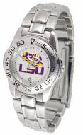 LSU Tigers Sport Steel Women's Watch