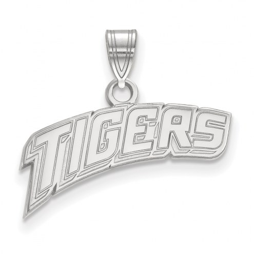 LSU Tigers Sterling Silver Small Pendant