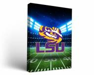 LSU Tigers Stadium Canvas Wall Art