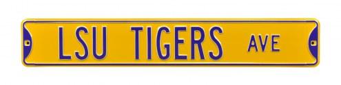LSU Tigers Street Sign