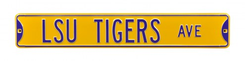 LSU Tigers Street Sign