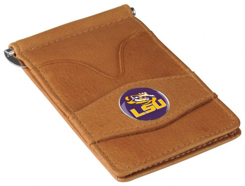 LSU Tigers Tan Player's Wallet