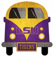 LSU Tigers Team Bus Sign