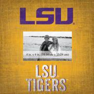 "LSU Tigers Team Name 10"" x 10"" Picture Frame"
