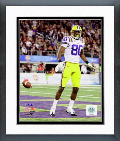 LSU Tigers Terrence Toliver Action Framed Photo