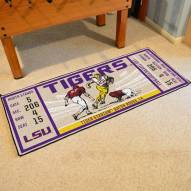 LSU Tigers Ticket Runner Rug