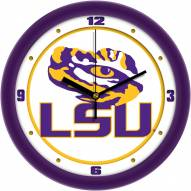 LSU Tigers Traditional Wall Clock