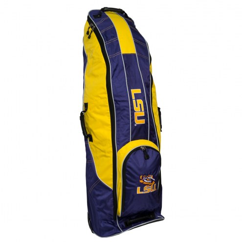 LSU Tigers Travel Golf Bag