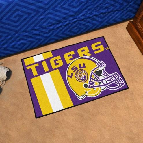 LSU Tigers Uniform Inspired Starter Rug