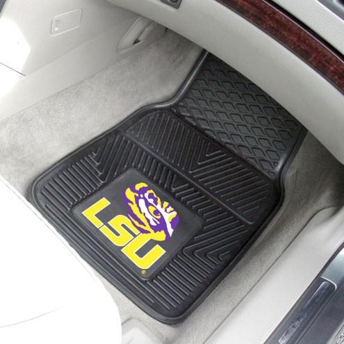 LSU Tigers Vinyl 2-Piece Car Floor Mats