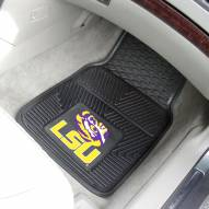 LSU Tigers Vinyl 2-Piece Car Floor Mats