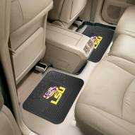 LSU Tigers Vinyl 2-Piece Rear Floor Mats