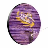 LSU Tigers Weathered Design Hook & Ring Game