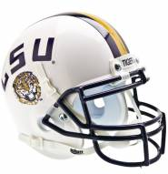 LSU Tigers White Schutt Mini Football Helmet