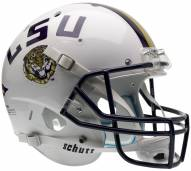 LSU Tigers White Schutt XP Collectible Full Size Football Helmet