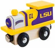 LSU Tigers Wood Toy Train
