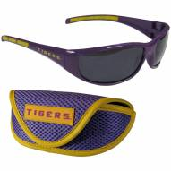 LSU Tigers Wrap Sunglasses and Case Set