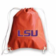 LSU Tigers Basketball Drawstring Bag