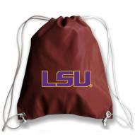 LSU Tigers Football Drawstring Bag