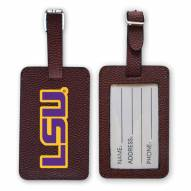 LSU Tigers Football Luggage Tag