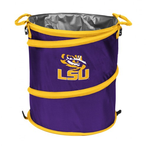 LSU Tigers Collapsible Trashcan