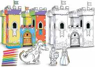 Magic Castle Buildable Cardboard Creations Play Set