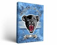 Maine Black Bears Banner Canvas Wall Art