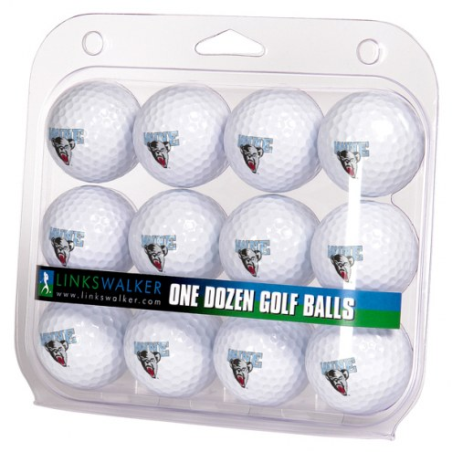 Maine Black Bears Dozen Golf Balls