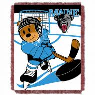 Maine Black Bears Fullback Baby Blanket