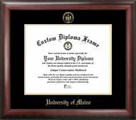 Maine Black Bears Gold Embossed Diploma Frame