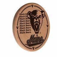 Maine Black Bears Laser Engraved Wood Sign