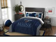 Maine Black Bears Modern Take Full/Queen Comforter Set