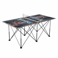 Maine Black Bears Pop Up 6' Ping Pong Table