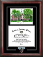 Maine Black Bears Spirit Diploma Frame with Campus Image