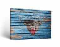 Maine Black Bears Weathered Canvas Wall Art