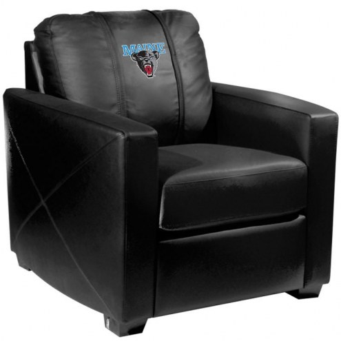 Maine Black Bears XZipit Silver Club Chair