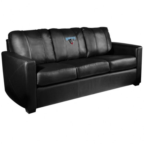 Maine Black Bears XZipit Silver Sofa