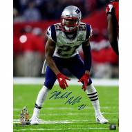 Malcolm Butler Signed Super Bowl 51 16 x 20 Photo