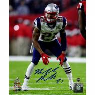 Malcolm Butler Signed Super Bowl 51 8 x 10 Photo